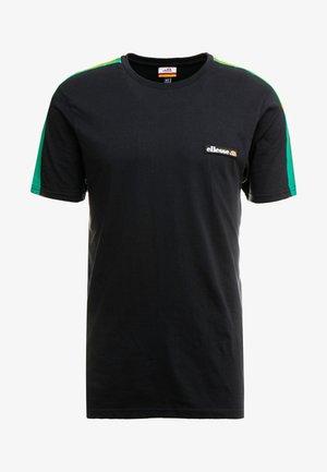 PIANTO - T-shirt print - black