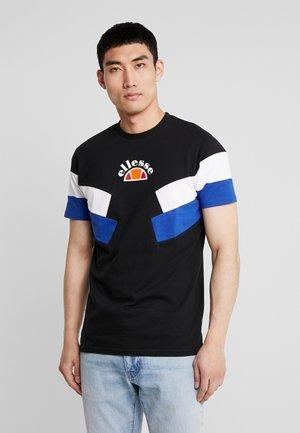 TERRIA - T-shirt imprimé - black