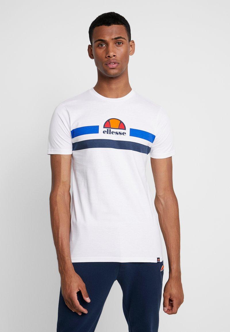 Ellesse - APREL - Print T-shirt - white