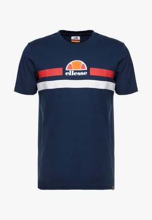 APREL - Camiseta estampada - navy