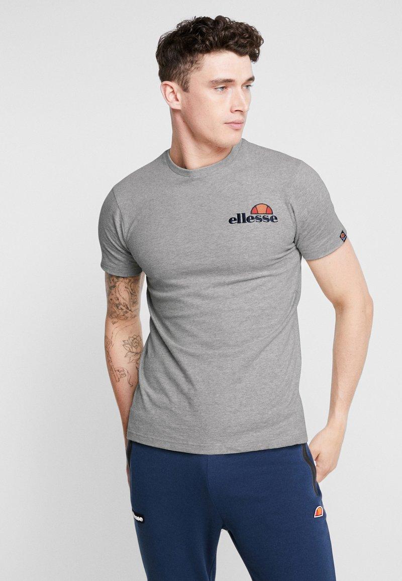 Ellesse - VOODOO - T-shirt con stampa - grey marl
