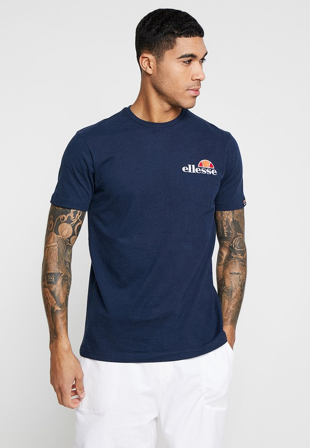 VOODOO - Print T-shirt - navy