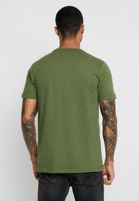 Ellesse - VOODOO - Print T-shirt - dark green - 2