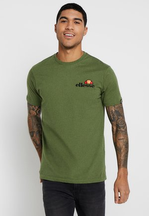 VOODOO - T-shirt med print - dark green