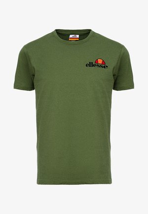 VOODOO - Print T-shirt - dark green
