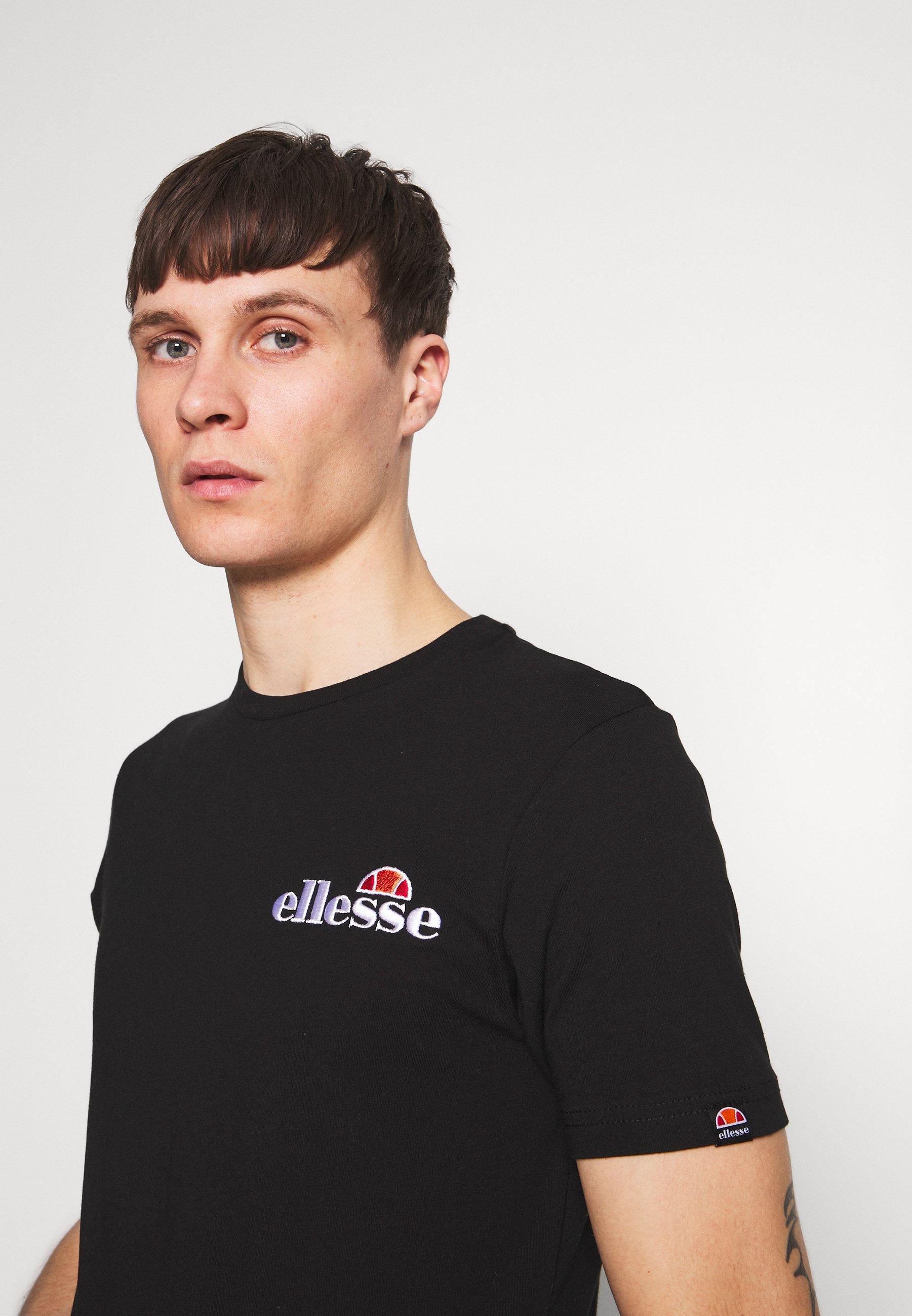 Ellesse VOODOO - T-shirts print - black - Tøj Til Herrer Salg