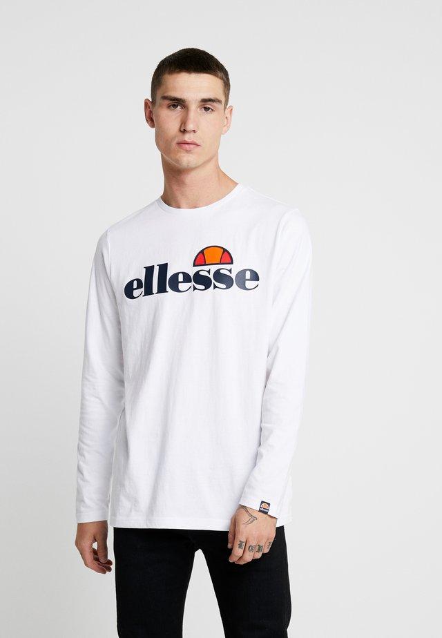 GRAZIE - Bluzka z długim rękawem - white