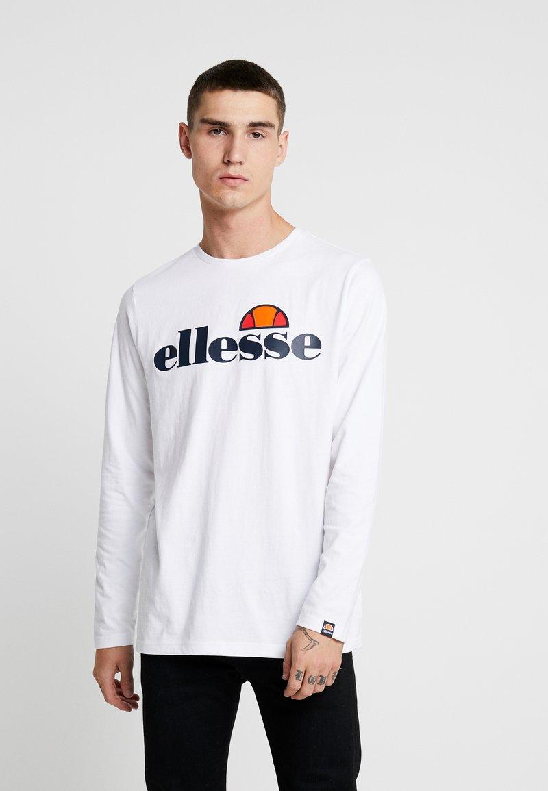 Ellesse - GRAZIE - Bluzka z długim rękawem - white
