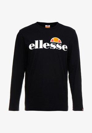 GRAZIE - Bluzka z długim rękawem - black