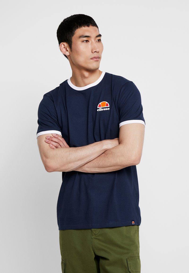 Ellesse - CUBIST - Print T-shirt - navy