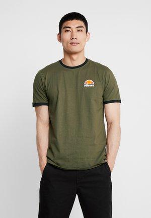 CUBIST - T-shirt med print - khaki
