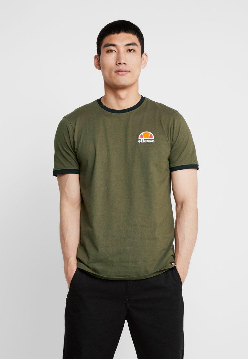 Ellesse - CUBIST - T-Shirt print - khaki
