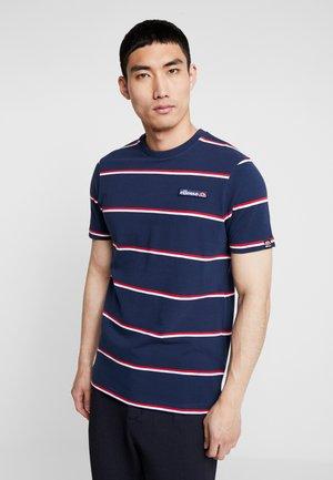 MEZZO - T-shirt imprimé - navy