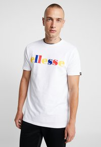 Ellesse - RENO - Print T-shirt - white - 0