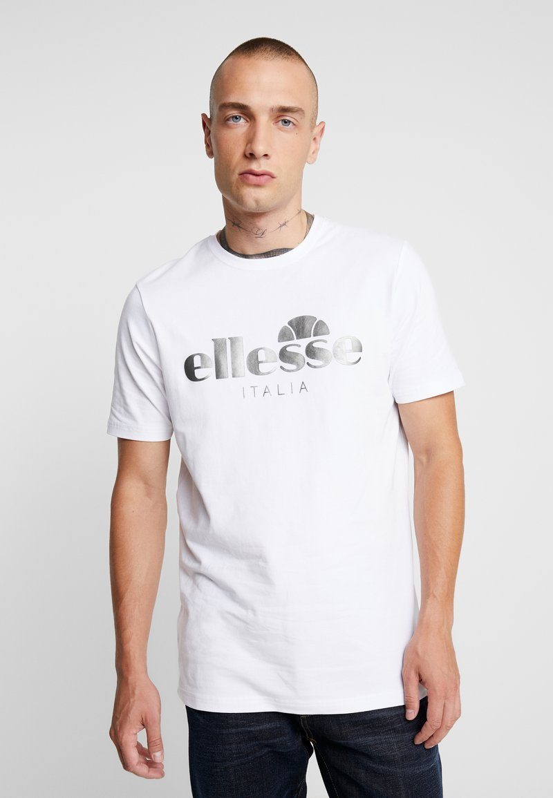 Ellesse - LUCCHESE - T-Shirt print - white