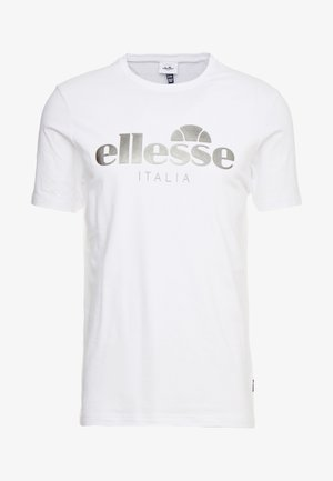 LUCCHESE - T-shirt con stampa - white