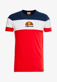 Ellesse - BENIZZI - Print T-shirt - red - 3