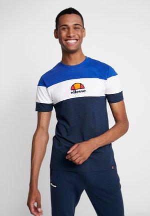 BENIZZI - T-shirt imprimé - navy