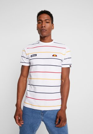 VETTORE - Print T-shirt - white