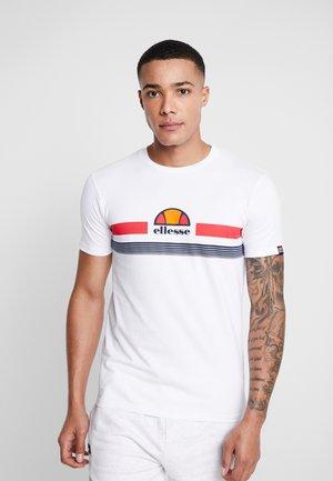 FORNACI - Printtipaita - white