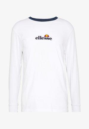 MANTIGO - Maglietta a manica lunga - optic white