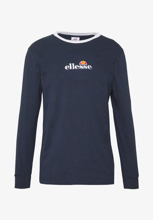 MANTIGO - T-shirt à manches longues - navy
