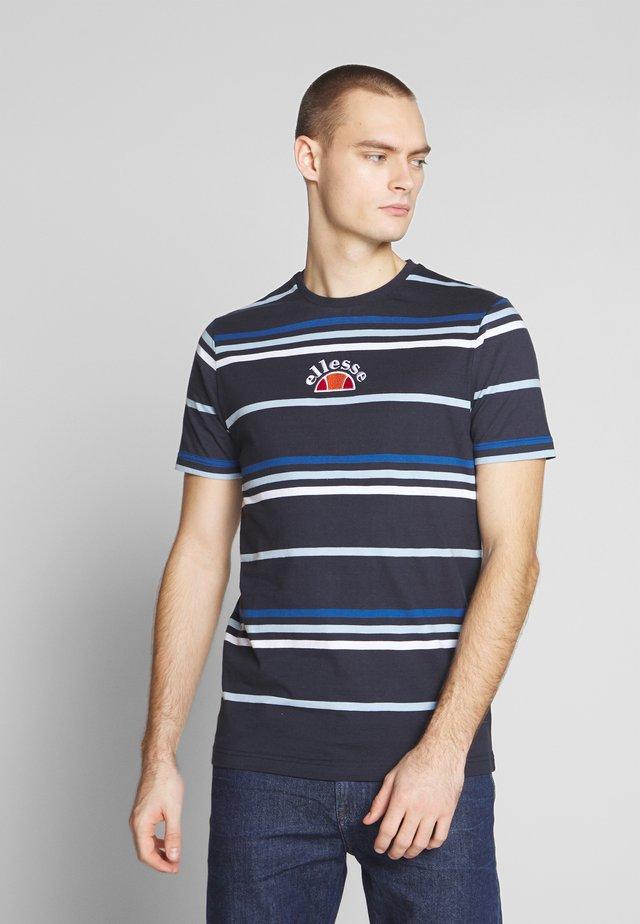 MINIATI - T-shirt print - navy