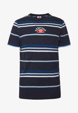MINIATI - Print T-shirt - navy