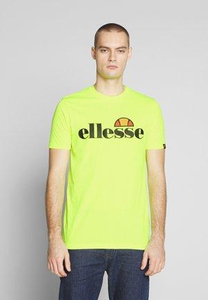PRADO - T-shirt med print - neon yellow