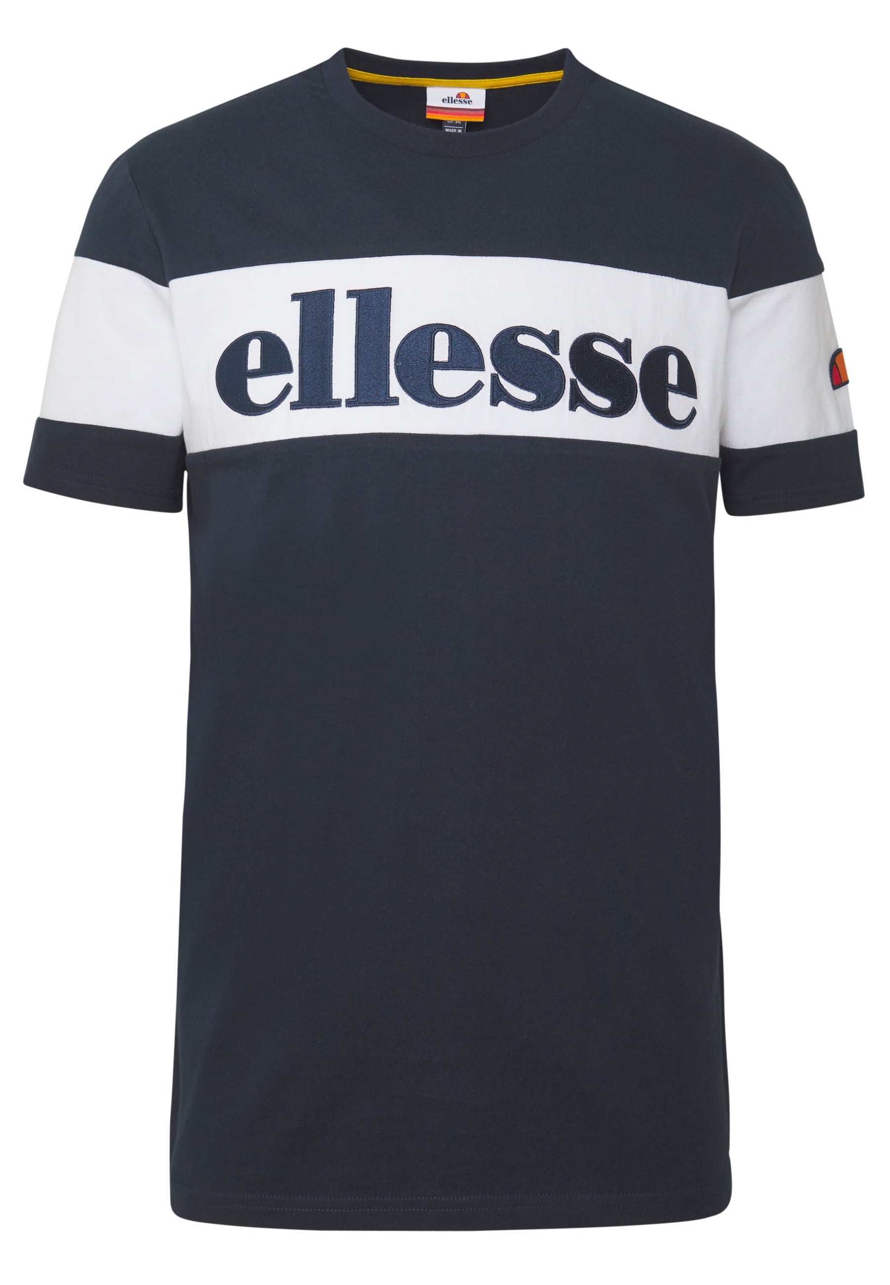 Ellesse PUNTO - T-shirt z nadrukiem - navy