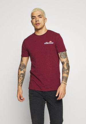 VOODOO - Print T-shirt - burgundy