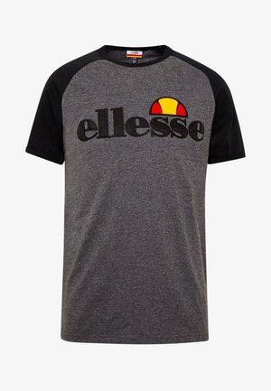 PIAVE - Print T-shirt - dark grey marl