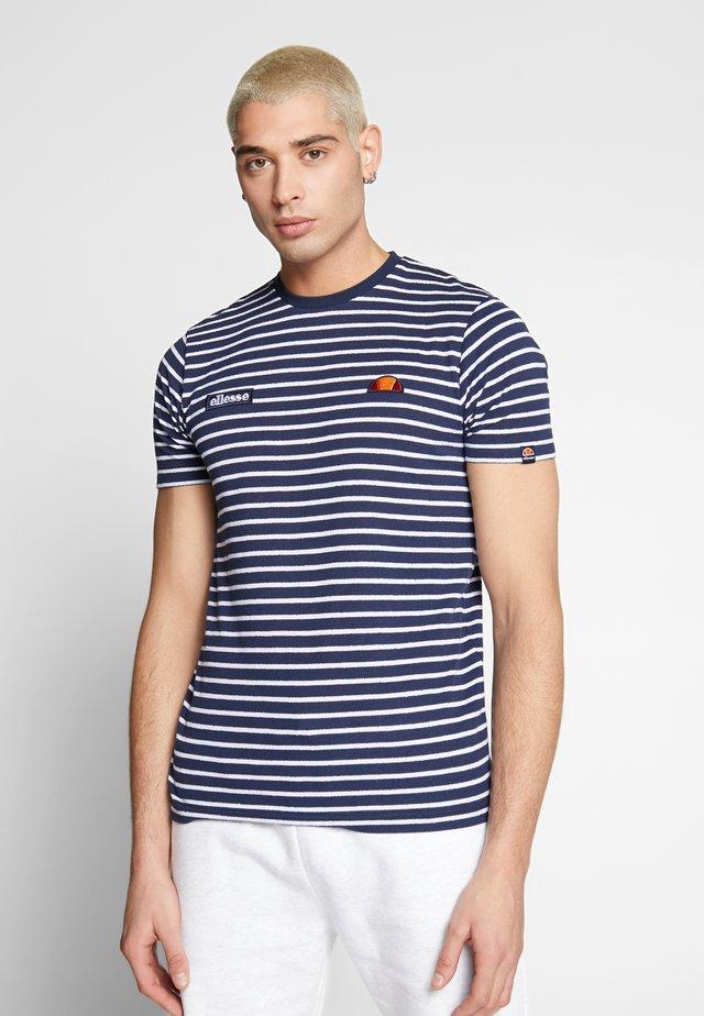 THERON - T-shirt print - navy