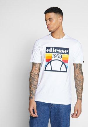 PIROZZI - T-shirt z nadrukiem - white