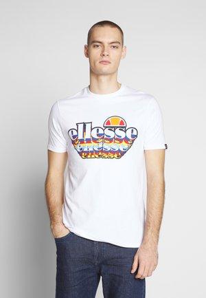 MULTIZ - T-shirt med print - white