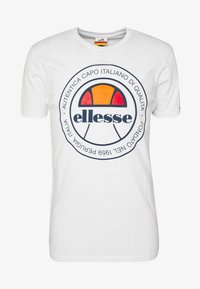 Ellesse - MONALDO - Printtipaita - white - 3