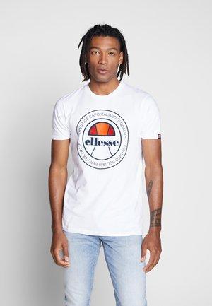 MONALDO - T-Shirt print - white