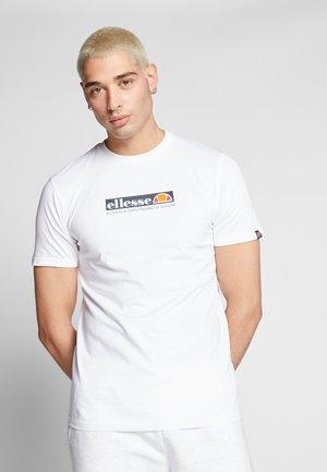 OFFREDI - T-shirt imprimé - white