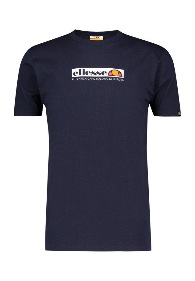 OFFREDI - Print T-shirt - marine (52)