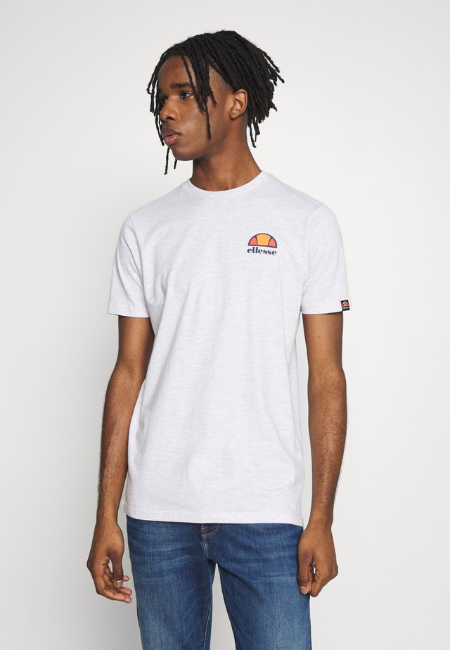 CANALETTO - T-shirt print - white marl