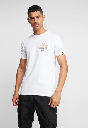 GREAT - Printtipaita - white