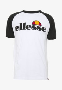 Ellesse - PIAVE - Printtipaita - white - 0