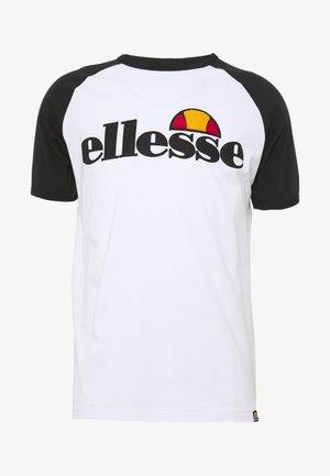 PIAVE - Print T-shirt - white