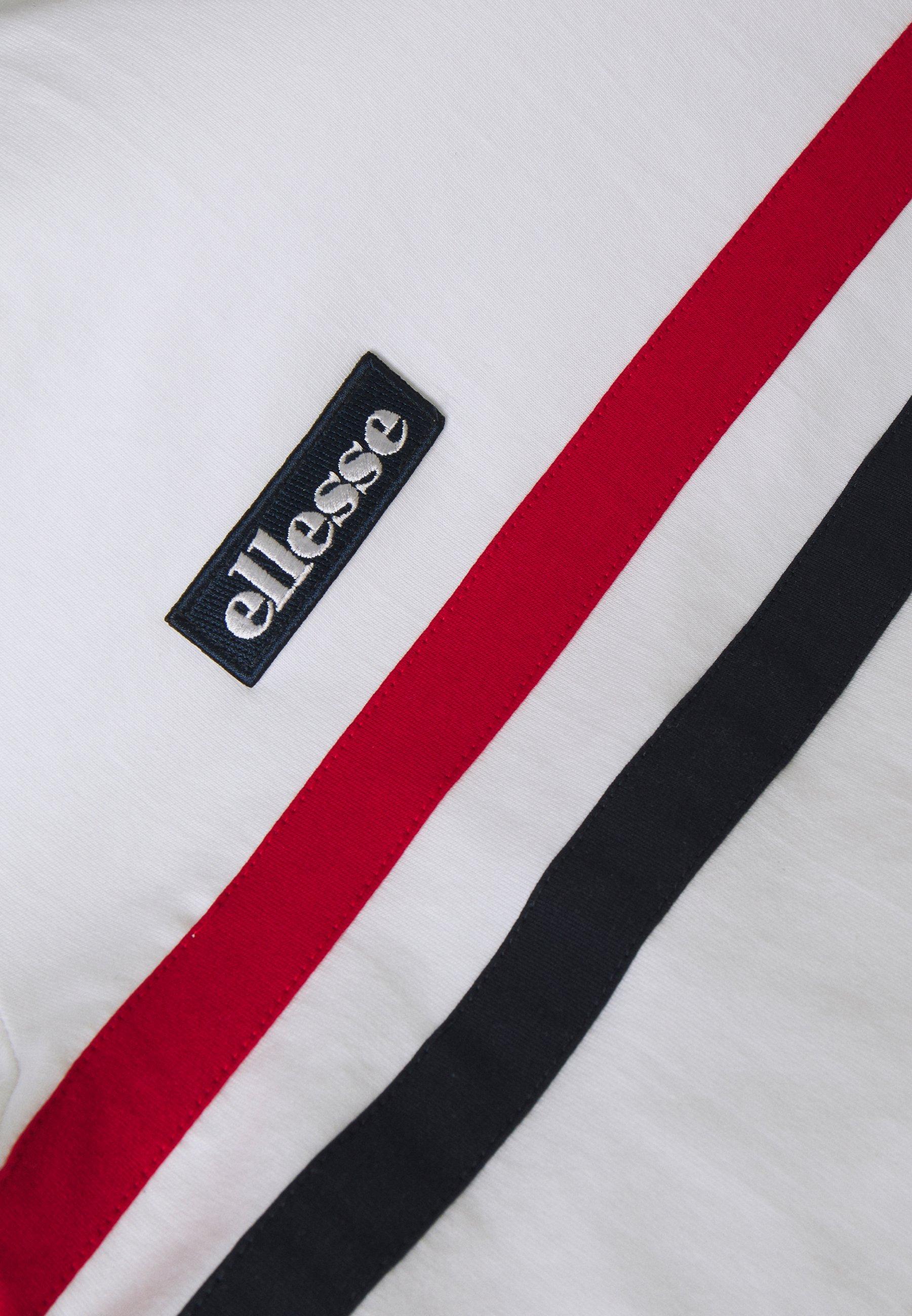 Ellesse BANLO T shirt imprimé white ZALANDO.FR