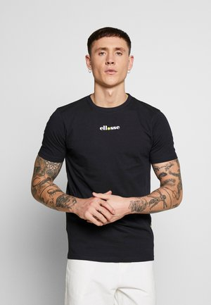 RAPALLO - Camiseta estampada - black