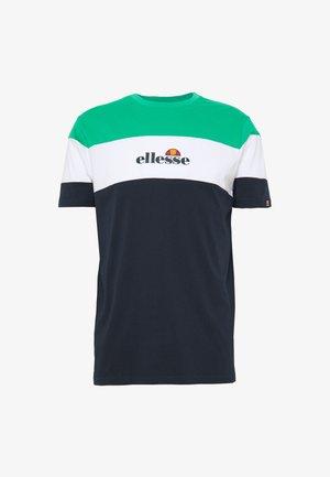 MINISTRY - Print T-shirt - navy