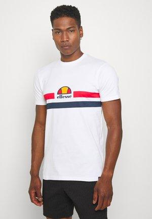 APREL - T-shirt med print - white
