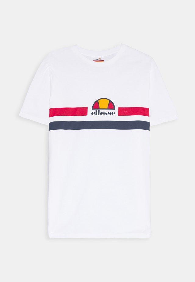 APREL - T-shirt print - white