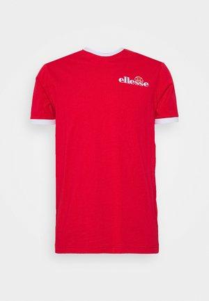 RINGER - T-shirt print - red