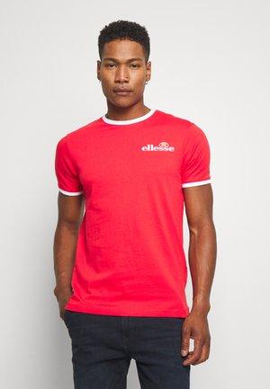 RINGER - Print T-shirt - red